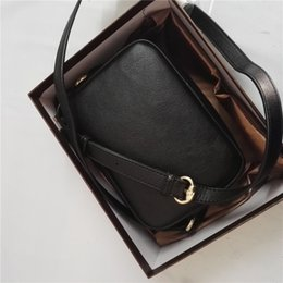 Wholesale Soft Boxes - Messenger Bag Women Brand designer handbag cross body genuine leather original box fashion luxury famous new fashion high quality M123