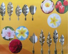 seringa de arte Desconto 10 PCS 3D Jelly Art Ferramentas Gurbias Bolo Gelatina Jello Art Moldes De Flores Pudim De Mofo Com 1 PC Set Seringa Russa Tulipa Bicos