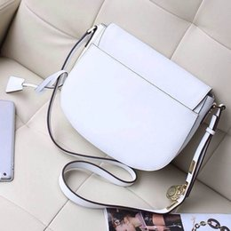 Wholesale Europe Style Bags - new perfect quality handbags for women Europe retro shoulder bag saddle bag lock bag free delivery