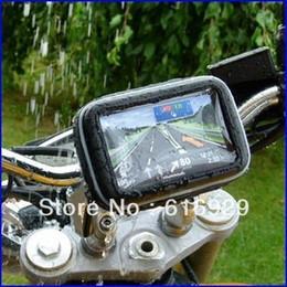 "Wholesale Cycling Navigation - Wholesale- car 5"" Waterproof 360 Motorcycle Bike Cycling GPS SAT NAV Case Bag w Mount Holder waterproof GPS navigation CASE mobilePHONE ho"