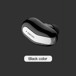 Wholesale Dacom Bluetooth Headset - New Dacom k8 mono small single earbuds hidden invisible earpiece micro mini wireless headset bluetooth earphone headphone for phone 0107039