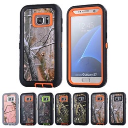 Wholesale Iphone 5c Hard Case Tpu - Branch Style Hybrid Rugged Shockproof Defender Hard Cover Case For iPhone 4s 5c 5s 6 7 plus Samsung Galaxy S7 edge Note 3