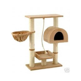grande maison pour animaux de compagnie Promotion New Cat Tree Condo Furniture Scratch Post Pet House