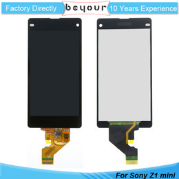 Wholesale Xperia Screen Replacement - LCD Touch Screen Display For Sony for Xperia Compact Z1 mini D5503 Assembly Replacement New AAA Black