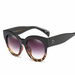flache schutzbrillen Rabatt New Flat Top Marke Designer Vintage Übergroßen Sonnenbrille Frauen Männer Großen Rahmen Mode Brille Retro Sonnenbrille VE065