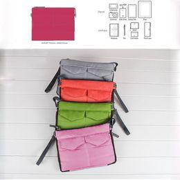 Wholesale Handbag Pouch Insert - Wholesale- travel pouch Insert Handbag Organiser liner Purse Organizer tidy Bag ipad case