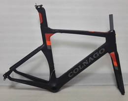 Wholesale 56cm Frameset - Newest color can choice colnago concept road bike carbon frame full carbon fiber road bike frame 48 50 52 54 56cm T1000 carbon frameset