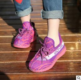 Wholesale Boys Handmade - 2017 spring new brand kids shoes boys sneakers handmade slip on boys shoes girls sneakers casual sports children shoes
