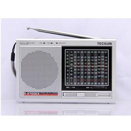 Wholesale Tecsun Free Shipping - Wholesale-Original High Sensitivity Tecsun R-9700DX FM Stereo SW MW Radio Receiver With Speaker Dual Conversion Radio 2 Color Free Ship