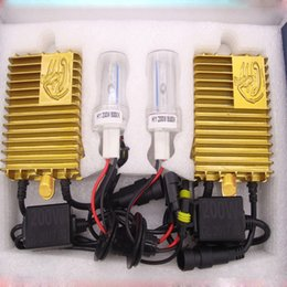Wholesale Xenon Hid Conversion - 200W HID Xenon Conversion Headlight Kit Car Light Bulb H1 H3 H7 H8 H9 H11 9005 9006 4300K 6000K 8000K 1000K Auto Lamp