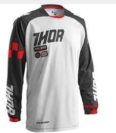 Wholesale Army Bike Jersey - New 2018 Racing Men MX motocross jersey motorcycle shirts motobike tops Bicycle Cycling MTB DH Dirt Bike Bicycle Jersey