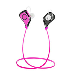 Wholesale Smartphone S5 - S5 Earphone Wireless Bluetooth BT 4.0 EDR In-ear Neck-strap Headset Headphone Sport Stereo Music with Mic Hands-free for iphone Smartphone
