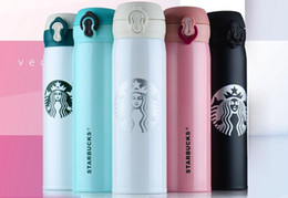 Wholesale Boys Hands - 450ml 350ml Classic Travel Tumbler Mug Stainless Steel Starbucks Coffee Cup for Hot Cold Drinks Double Wall Water Bottle Boy Girl Gift A97