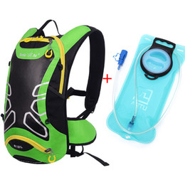 Wholesale Mtb Backpack - Wholesale- Brand Riding Backpack MTB 12L Bicycle Bag Outdoors Backpacks Trekking Bicycle backpack water bags Bolsa Bicicleta