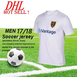 Wholesale Montreal Wholesale - DHL-Thai quality 2017 Real usa League Salt Lakes jersey United States 17 18 Canada Montreal Impact Academy jersey Rain Wear Football shirt