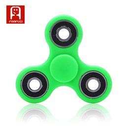 Wholesale Toy Ball Colourful - free shipping fidget spinner novelty gag toys Steel ball bearing rotating ABS material colourful decompression children gift