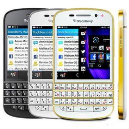 Clavier de l'ue en Ligne-Remis à neuf Blackberry Q10 US EU 3.1 pouces Dual Core 1.5GHz 2GB RAM 16GB ROM 8.0MP Caméra 4G LTE Réseau Qwerty Clavier DHL 1pcs