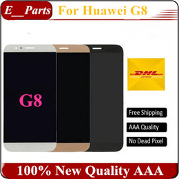 Wholesale Wholesale Cellphone Replacement Parts - Original Quality AAA For Huawei G8 LCD Display and Touch Screen Digitizer Assembly Replacement for Huawei G8 CellPhone Parts