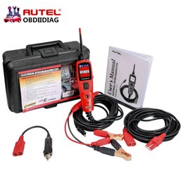 Wholesale Diagnosis Honda - New Original Autel PowerScan PS100 Electrical System Diagnosis Tool Autel PS100 Power Scan PS100 Car Auto Circuit Tester