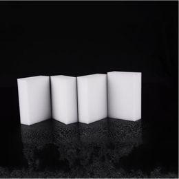 Wholesale Magic Eraser Cleaner - Nano Sponges White Magic Foam Rubber Sponge Cleaning Eraser Easy Clean Cuboid Spunge Multi Function Household Cleaning Tools 0 12ft D