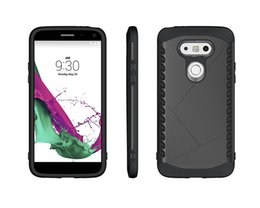 Wholesale Nexus Bumpers - Dual Layer Rugged Armor 2 in 1 PC Bumper Soft TPU Protective Case For LG G5 G4 G4 Stylus Nexus 5 2015 V10