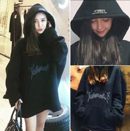 Wholesale Gd Hoodie - High Quality Brand Clothing Hoodie GD Sweatshirts men Women Vetements Oversized Hooded Hoodies Women Rihanna Kanye West Streetwear Plus Size