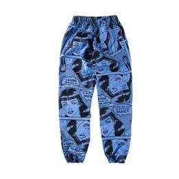 Wholesale Cartoon Waist - PALAE SkaCteboard stussy Pants Men Women 100% Cotton Palace Pants Jogger Casual Sweatpants Casual Hip Hop sup Hombre Trousers Pants fog