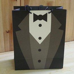 2019 sacchetti di carta di gioielli Sacchetto di carta del sacchetto del regalo del sacchetto del regalo di cerimonia nuziale del sacchetto con i manicotti dei sacchetti di cerimonia nuziale alla moda sacchetti di sacchetto del compleanno di favore ZA3655 sacchetti di carta di gioielli economici