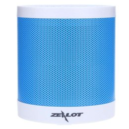 Wholesale Hifi Active Speakers - Multifunction Portable ZEALOT S5 Bluetooth 4.0 Wireless Speaker Microphone Subwoofer Active Outdoor For Mobile Phone Laptop Mp3