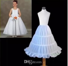 Wholesale Cheap Hoops - 2017 In Stock Cheap One Hoop Flounced Petticoat Wedding Accessories CPA201
