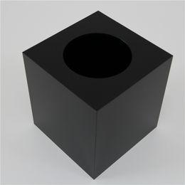 Wholesale Plastic Storage Tubes - Wholesale- Tall tissue box   high-grade black acrylic storage box   Desktop 2015 square towel tube rolls for new ideas listed