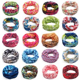 Wholesale Hair Band Magic - PromotionTop Fashion Multifunctional scarf Outdoor Cycling Seamless bandana Magic multifunctional Turban Sunscreen Hot Hair band Hot Selling