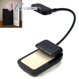 Wholesale E Emergency - Wholesale- Z Newest Book Light 3 LED E-reader Clip with Flexible Read Light lamp for Ebook Ereader Kindle for Pocketbook Reading Lamp