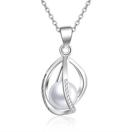 Wholesale pearl jewelry manufacturers - Wholesale custom jewelry 2018 latest high quality reliable manufacturer jewelry silver pearl cage pendant for women