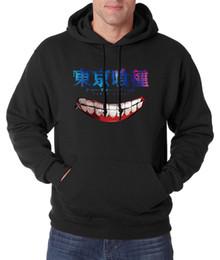 Wholesale Tokyo Ghoul Sweatshirt - Wholesale- new arrival Tokyo Ghoul Hoodies Men Anime Ken Kaneki Sweatshirts 2016 autumn winter hooded hip hop streetwear sudadera hombre