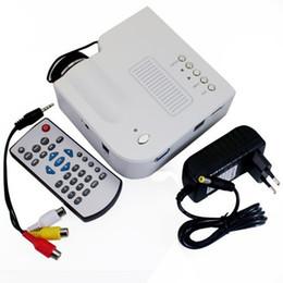 Wholesale Multimedia Player Hdmi Input - Wholesale-2015 Hot Sale UC28+ Projector HD 1080P Mini LED Digital Video Game Projectors Multimedia Player Inputs AV VGA USB SD HDMI