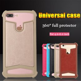 Wholesale Wholesale 3d Cell Phone Cases - Universal Cell Phone Case 3D Soft Silicone for Samsung S8 Note 5 Plus iPhone 5 6 6s 7 Plus Elastic Stretch General Cover