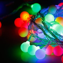 Wholesale 9M Led Christmas Tree Lights Party Decorations Colorful LED String Lights Waterproof Decorative Lights For Party Holiday Festival Wedding