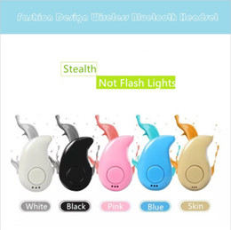 Wholesale Stealth Phone - Mini Wireless Headphones S530 V4.1Bluetooth Earphone Stealth Sports Headset Ear-Hook Earpiece With Mic For iPhone and Adroid Mix Color