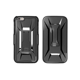 Wholesale Iphone Swivel Cases - X Shape Shockproof Hybrid Rugged Defender Armor Case Kickstand + Swivel Belt Clip Holster Cover for iphone Samsung LG Huawei ipad cases