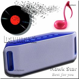 Wholesale Galaxy Home Buttons - S204 Portable Bluetooth speaker For iPhone Galaxy iPad PC Tablet subwoofer sport outdoor home mini TF gift