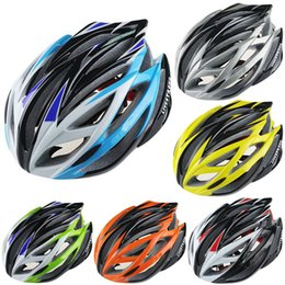 Uomo verde casco online-Casco da ciclismo Livestrong Super Light 220g bici da strada Casco da ciclismo Parti bici da uomo Giallo / Verde / Blu / Arancio / rosso / argento Colori giallo