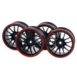 Wholesale Wholesale Drift Rc - 4x Wheel 26mm,Rim Hex 12mm, RC 1:10 On-Road Street Drift Car tires 9068