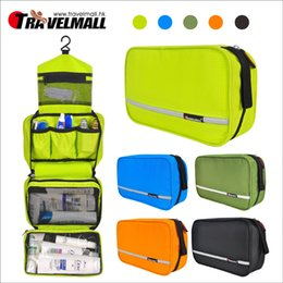 Wholesale Male Cosmetic Bags - Free shipping Travel outdoor supplies travel suit wash bag male waterproof ladies portable cosmetic bag storage bag