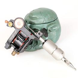 2019 mejor máquina de revestimiento rotativo Máquina de tatuaje de LUO hecha a mano Liner Nuevo diseño Wrap Coil 10 bobinas Tattoo Gun para Tattoo Kit TM2114