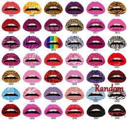 Wholesale Temporary Lips Transfer Tattoo - Lip Sticker Temporary Tattoo Sticker Transfers Lipstick Art Party Fancy Dress + Free Shipping + Free Gift
