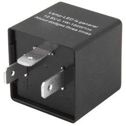Wholesale 12v Relay Led - 12V Universal 3 Pin Car Adjsutable Car LED Turn Signal Flasher Blinker Indicator Flasher Relay 135591201