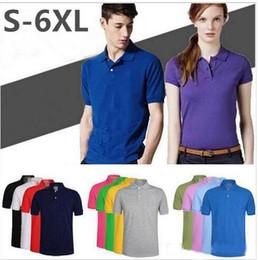 Wholesale Men Polo Shirts Clothes Wholesale - Men Polo Crocodile Embroidery Tops Short Sleeves Polo Shirt Brand-clothing Camisa Masculina Polo Hombre Poloshirt Men Free shipping