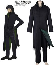 Wholesale Darker Black Cosplay - Darker than Black Hei Windbreaker cosplay Costumes
