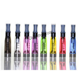 Wholesale Ego Ce4 Tanks - CE4 Atomizer 1.6ml 2.4ohm 4 Wicks 7 Colors No leaking Tank 510 thread for Ego t EVOD Twist Vision Vaporizer